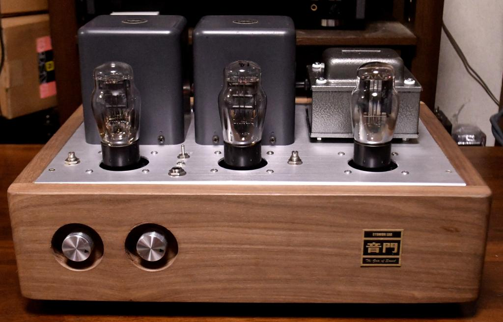 45/2A3 SE tube amplifier/headhphone amp driving tube 717A