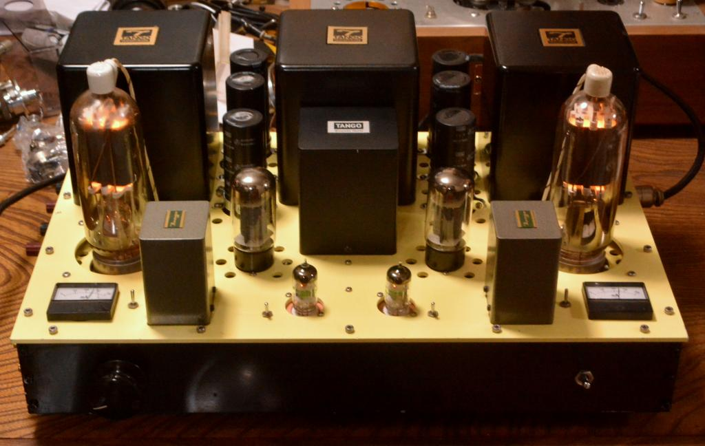 805 SE tube amplifier with all special order made Hirata TANGO transformer