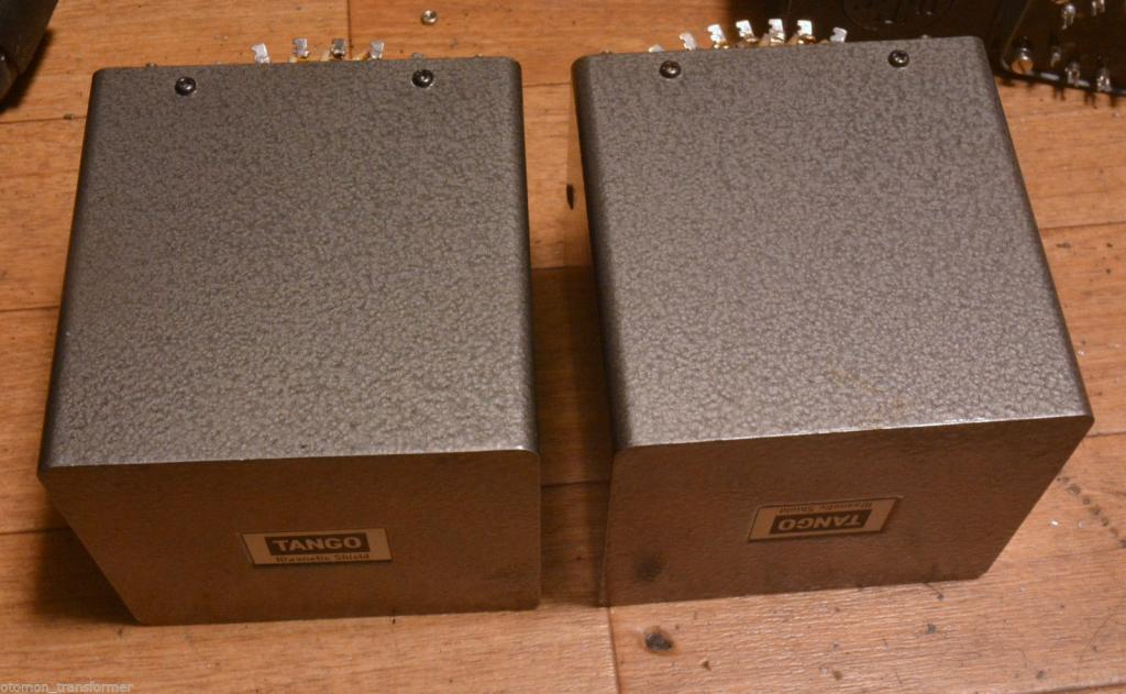 Pair Hirata Tango power transformer for SE tube amp 211, 300B, PX25