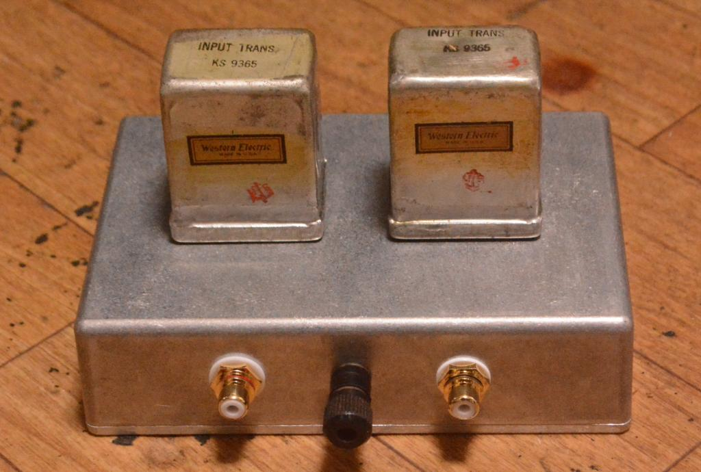EXTRA RARE !!! Western Electric KS-9365 600Ω:50KΩline, step up transformer,