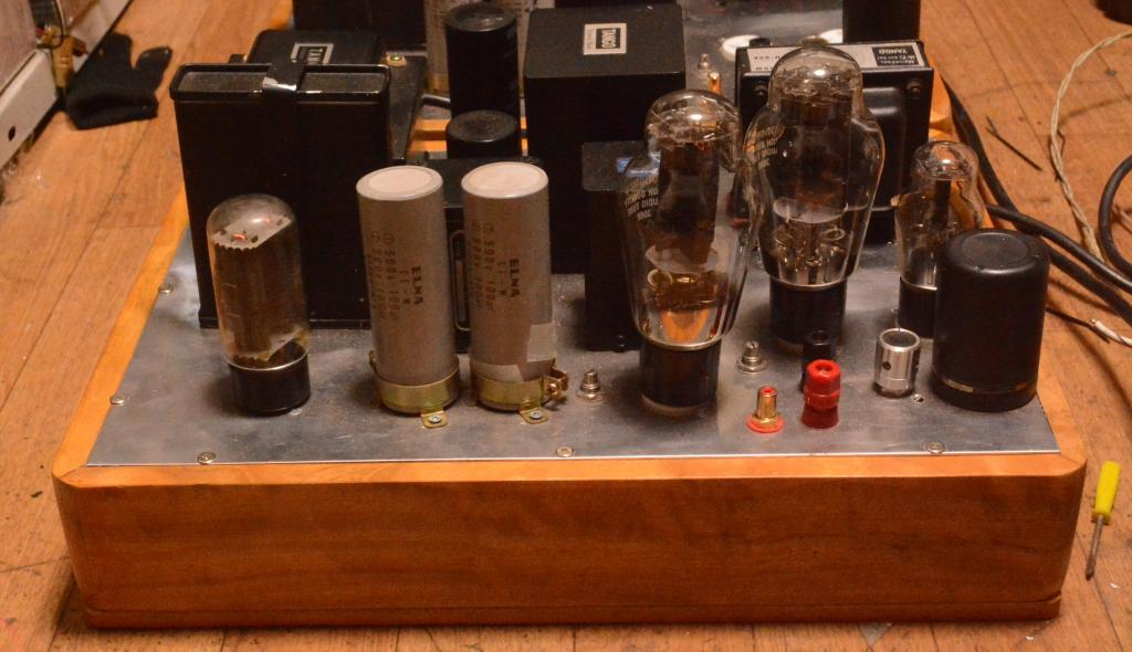 300B drive 300B SE tube amplifier transformer coupling * ALL HIRATA TANGO