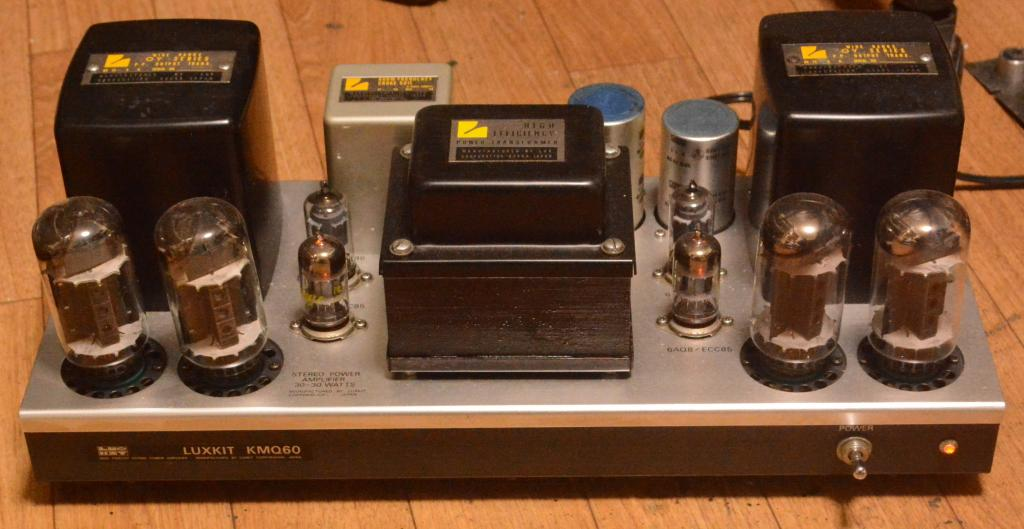 70s year Luxman MQ-60 tube stereo ampilifier with OY series output transformer