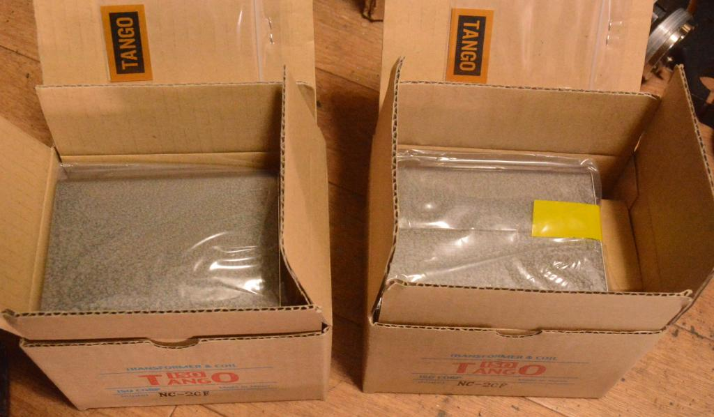 Ex RARE New Pair TANGO NC-20F interstage transformer for 300B,211 vv..v..