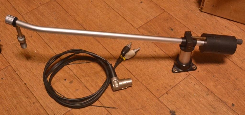 80s year Ortofon RF-297 long tonearm for SPU-A type cartridge