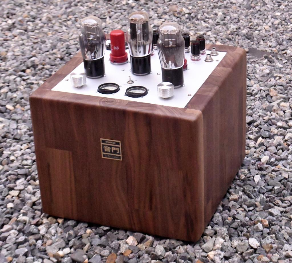 """The Tesseract"" 71A tube preamp"