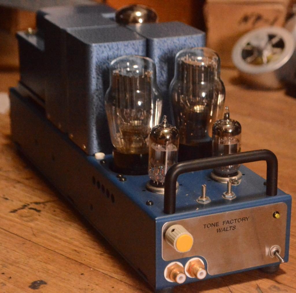 NOS Tone Factory, Vitamin Q 2A3/45 SE tube amplifier