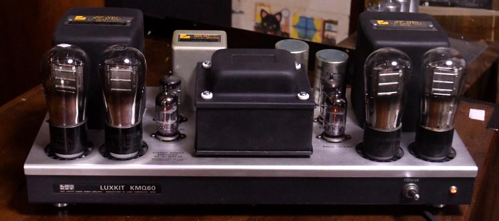 71A PP stereo tube amp with LUXMAN output transformer 100~117V input