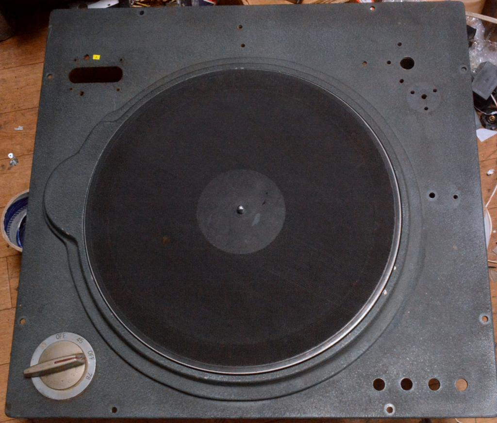 Early 50s year DENON Columbia RP-53A 16 inch turntable * same as EMT 927st * Ex RARE
