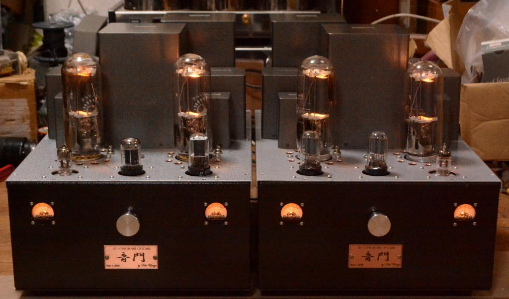 211/845 PSE tube amplifier * Hirata TANGO X-5SLL OPT, 35-50W output