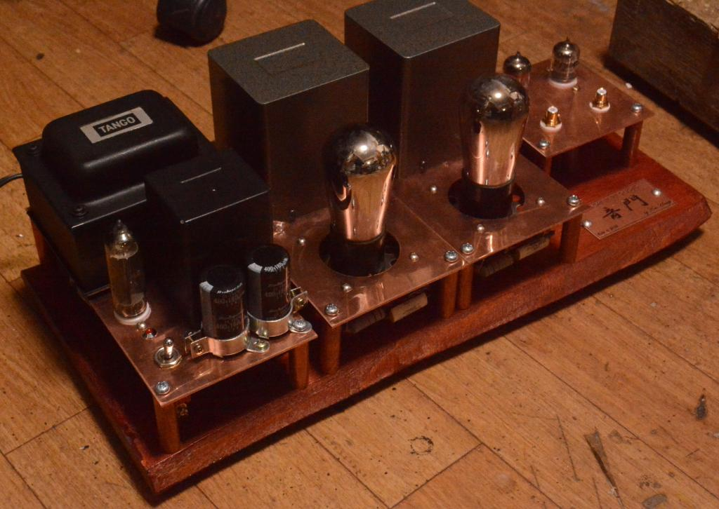 WE396A 45/71A SE tube amplifier special order made for high sensitive speaker system
