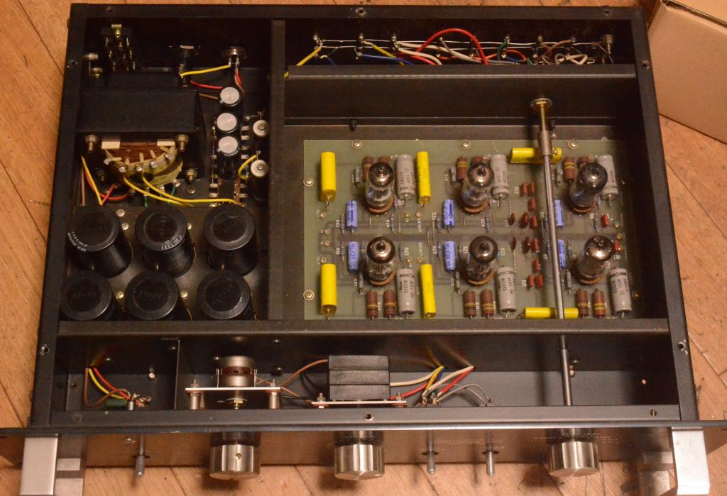 Sound Exprorer CR-1000 preamplifier with phono stage TANGO transformer * Perefect condition