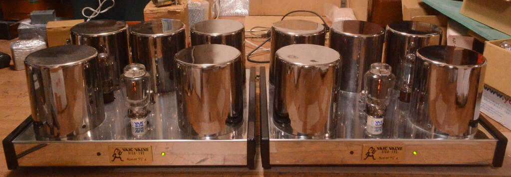 VAIC VALVE VV52B tube amplifier monoblock x 2 * MADE IN ITALY