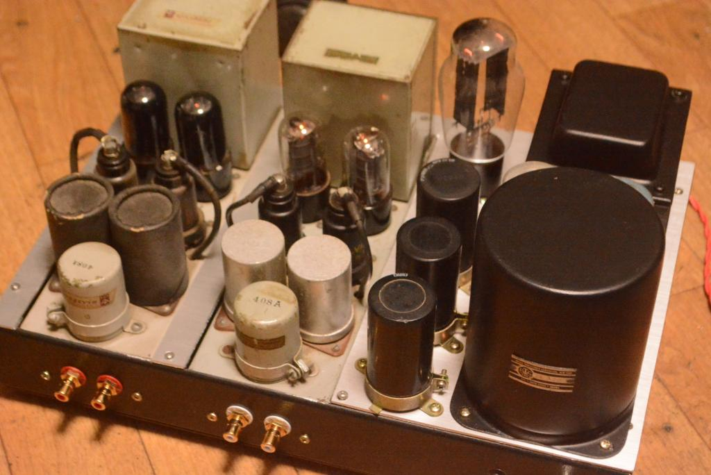 50s  year Langevin 117A preamplifier * Perfect working