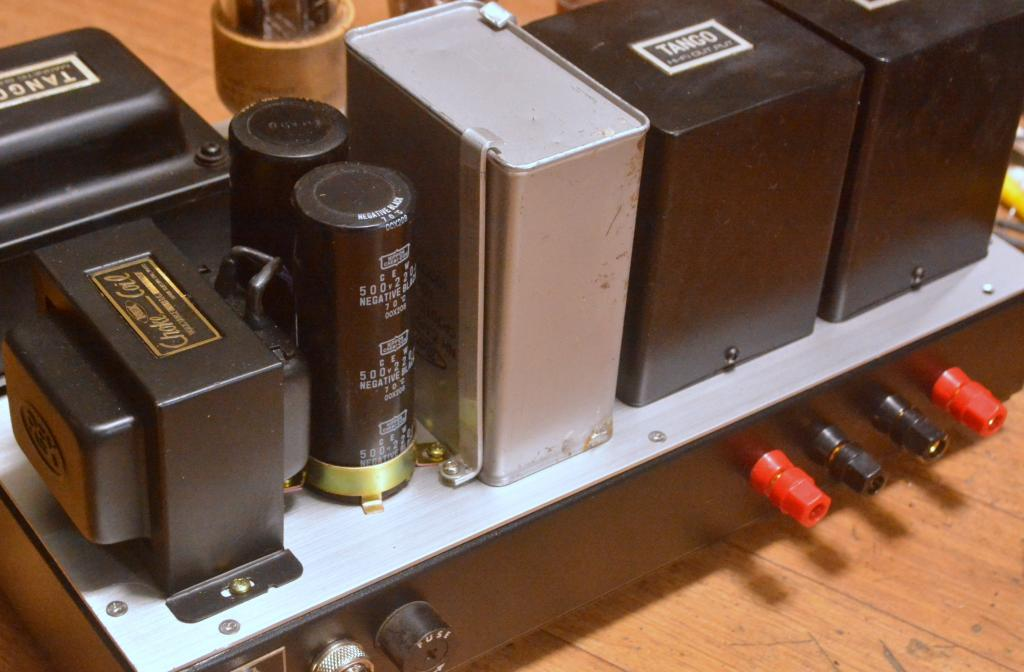 Special order made  VT-62/801 stereo tube amplifier ALL TANGO transformer