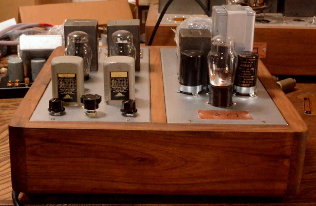 717A-71A/10Y/VT-25/45/2A3 tube preamp