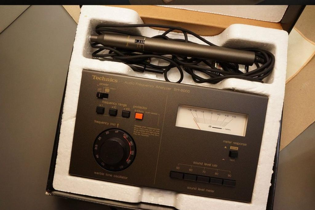 Technics SH-8000 audio frequency Analyzer * High recommend for audiophile