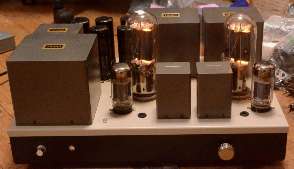 211 SE special order made amplifier with Hirata TANGO transformer