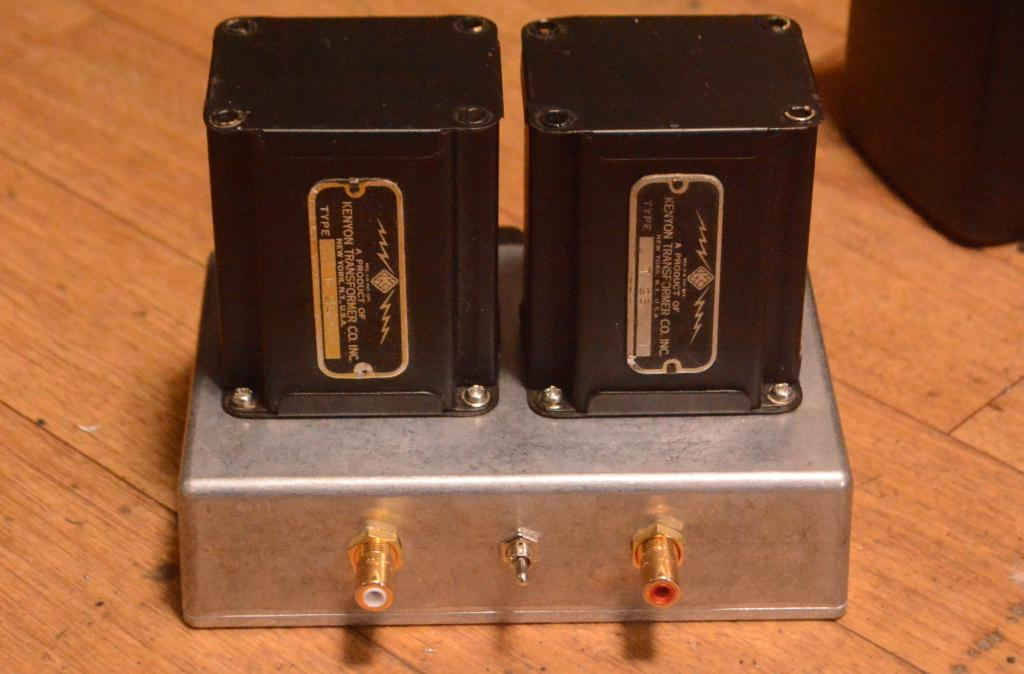 40s years KENYON T-26 input, step up transformer * Perfect sound