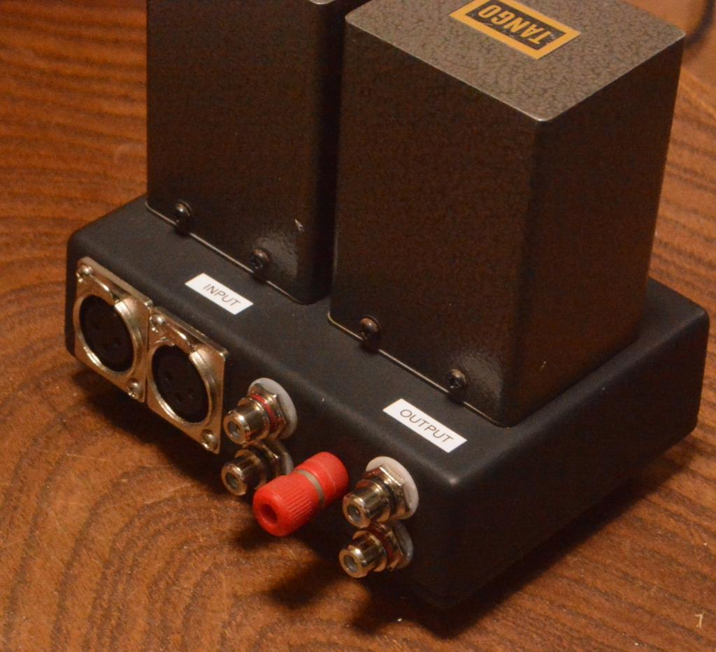 Hirata TANGO special order made input, stepup transformer with permalloy core * RCA <-> XLR