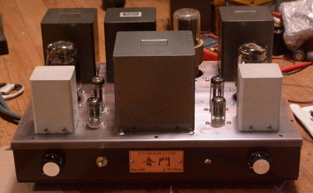 Special order made KT-88/EL-156SE tube amp with all Hirata TANGO OPT