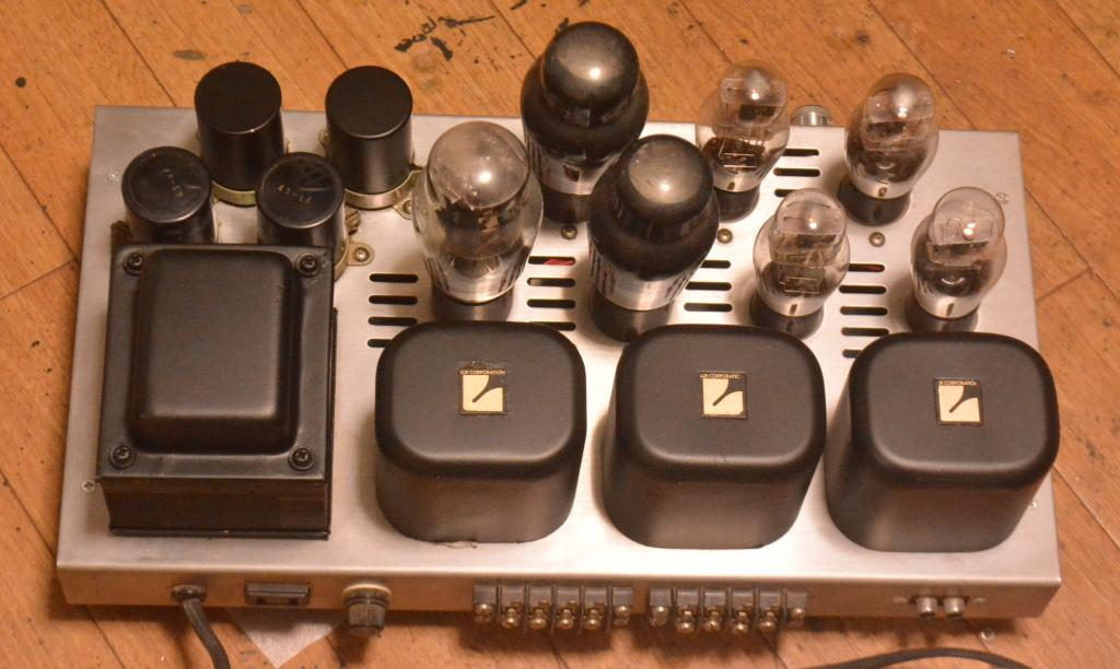 Morikawa RCA 2A3 stereo tube amplifier with all Luxman transformer