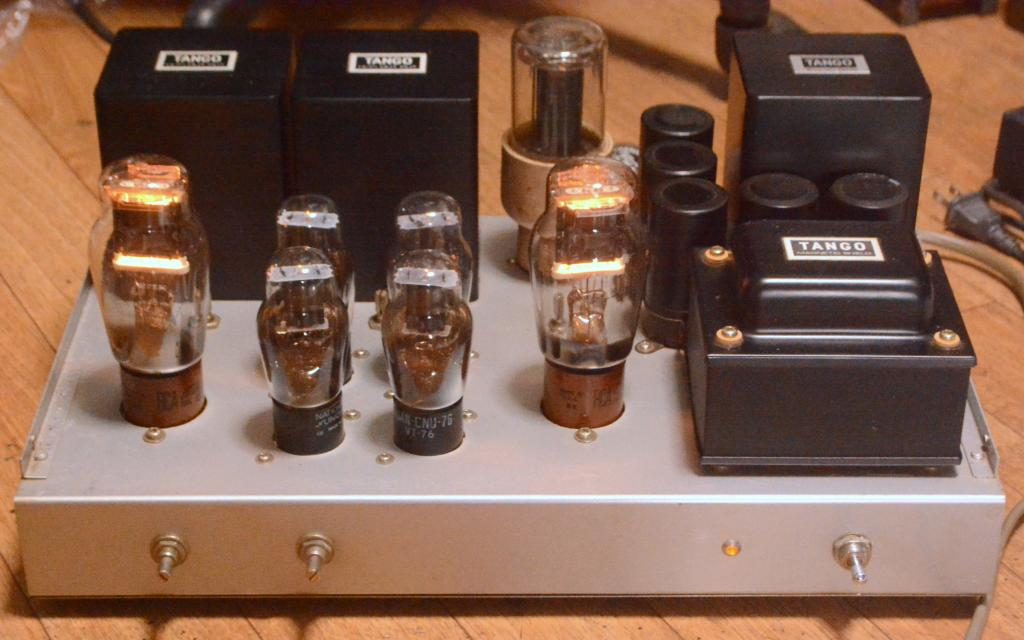 Sound Exprorer RCA VT-62/801 stereo tube amplifier ALL TANGO transformers