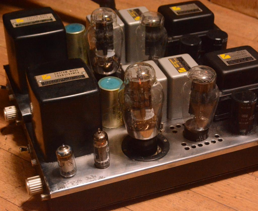Gallery Stereo Q 300B monobock x 2  ALL Luxman transformer * Perfect sound