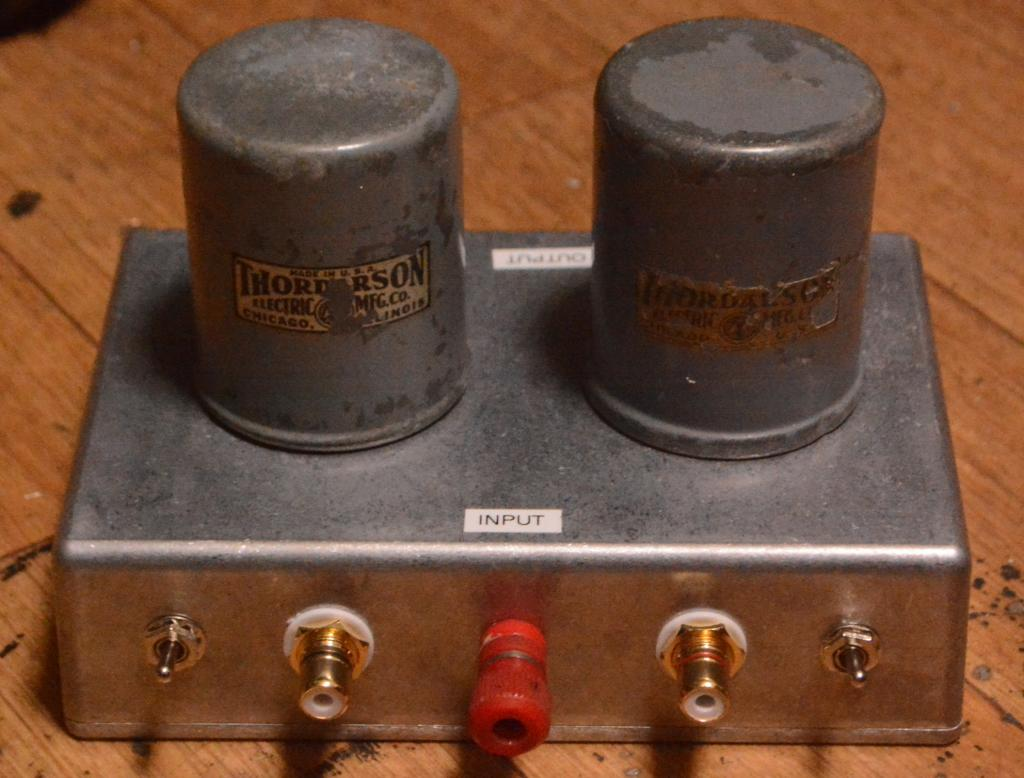 Thordarson T-1A79 input, MC step up transformer * nearly same as TRIAD HS-1