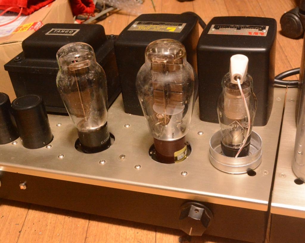 Western Electric 91A type 300B SE stereo tube amplifier class A1 with All LUX transformer