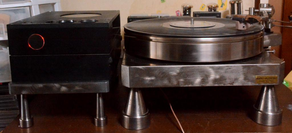 Only one in the world ! Mario Valentio design turntable  with Micro seiki RY-5500 motor