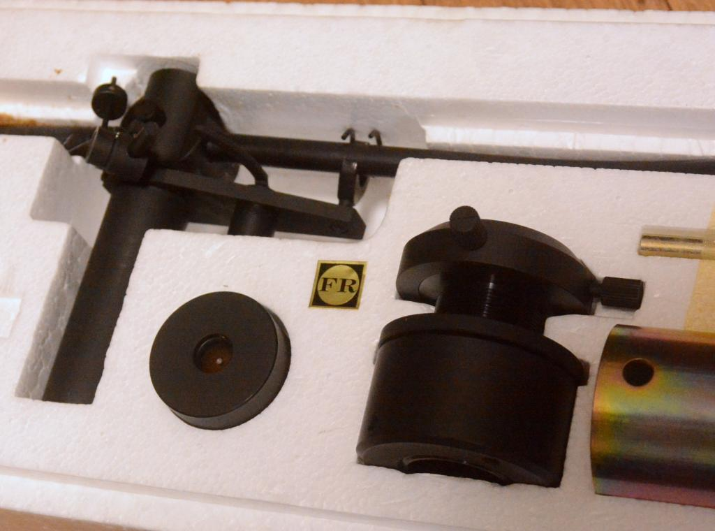 Ex RARE Fidelity Research FR-66FX tonearm for professional with box
