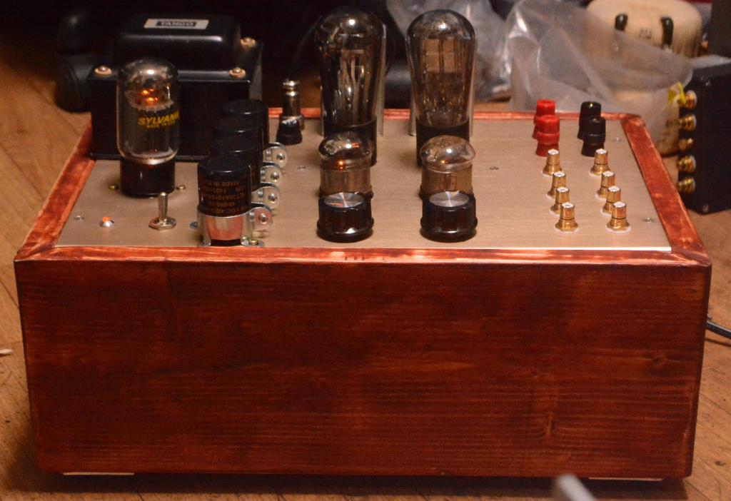 717A 45/71A SE tube amplifier special order made for high sensitive speaker system