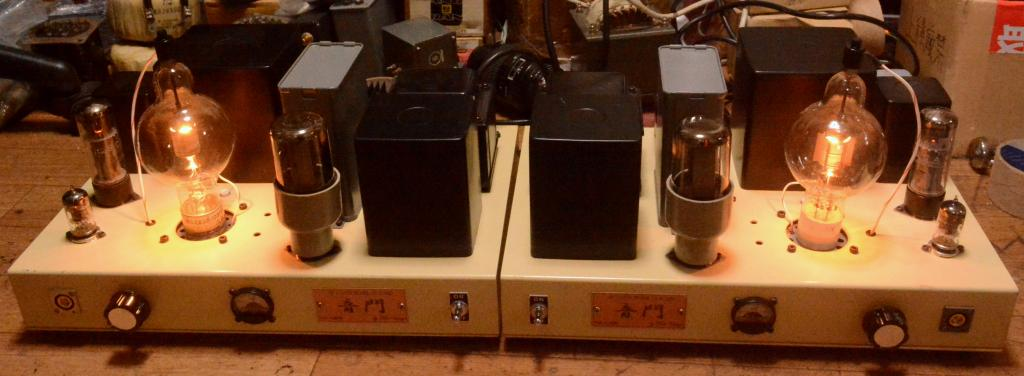 100th stereo tube amplifier Shishido IITC All Hashimoto transformers