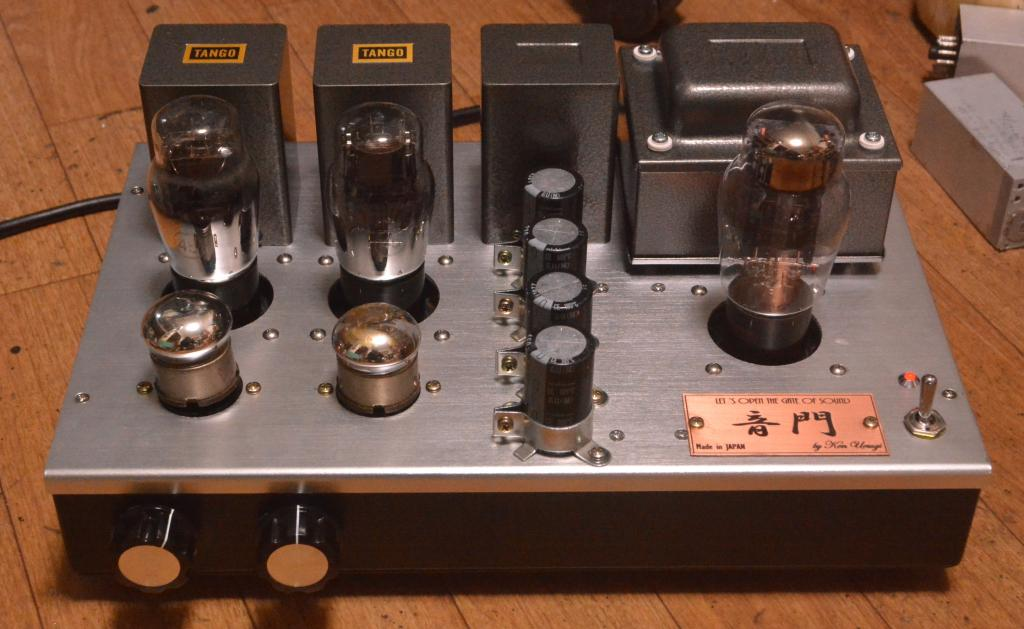 45 SE tube amplifier/preamp/buffer amp driving tube 717A