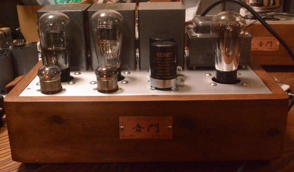 45 SE tube amplifier with driving tube 717A