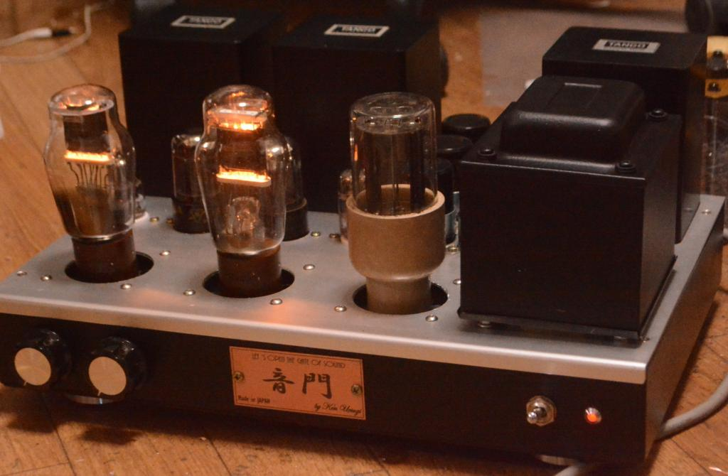 Special order made  VT-62/801 stereo tube amplifier ALL TANGO transformer * AC heater