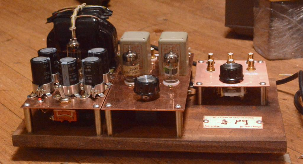 Tube preamp with UTC output transfomer, KENYON power transformer, output 600ohm
