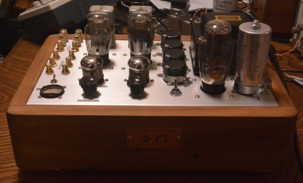717A 71A SE tube amplifier special order made for high sensitive speaker system