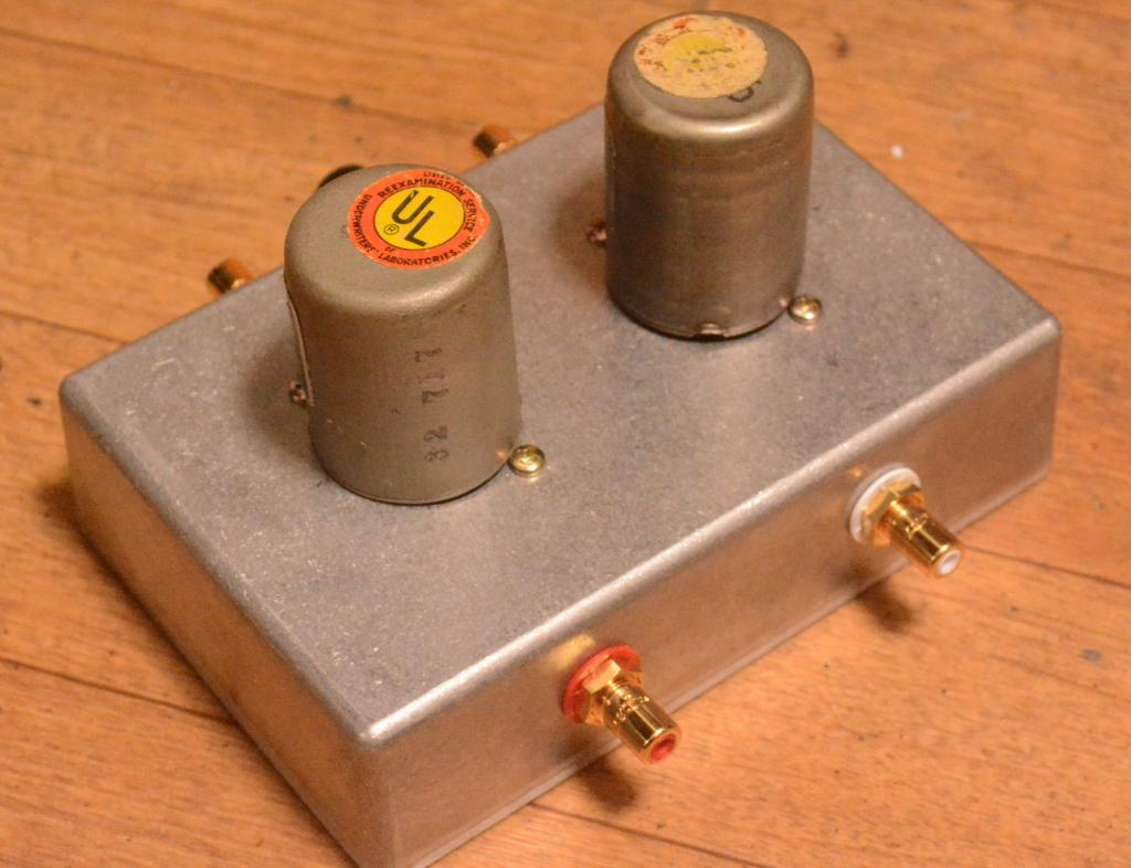 ... Dukane 3A55 input, step up transformer for analog fan