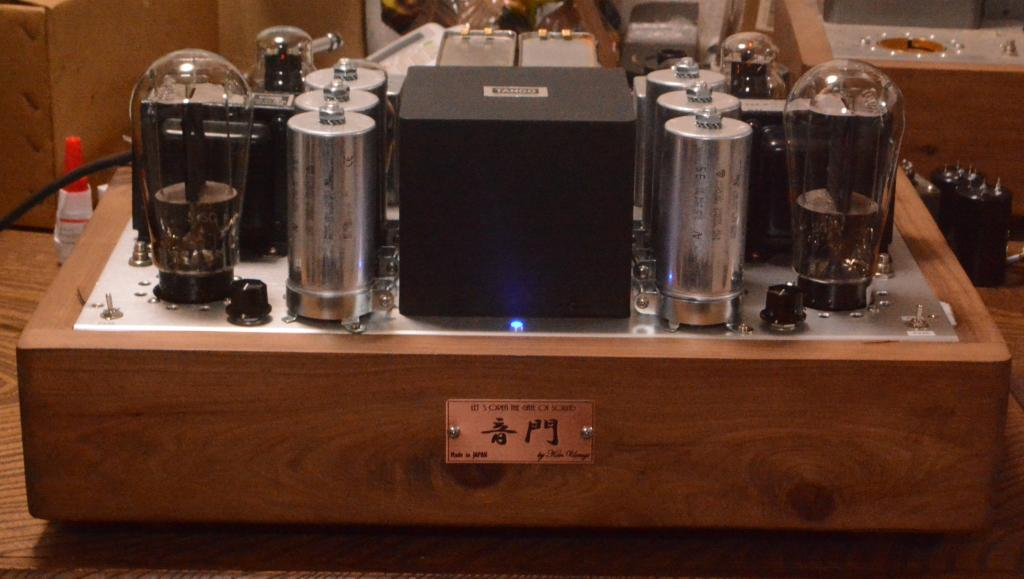 PX25/PX-4 SE stereo tube amplifier class A1, 15W output