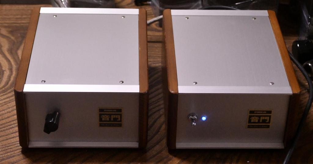 WE396A MM, phono preamp with seperated power supply