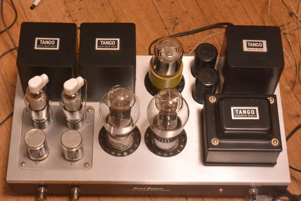 Sound Exprorer SL-770 WE91A type 300B SE stereo tube amplifier with all Hirata TANGO