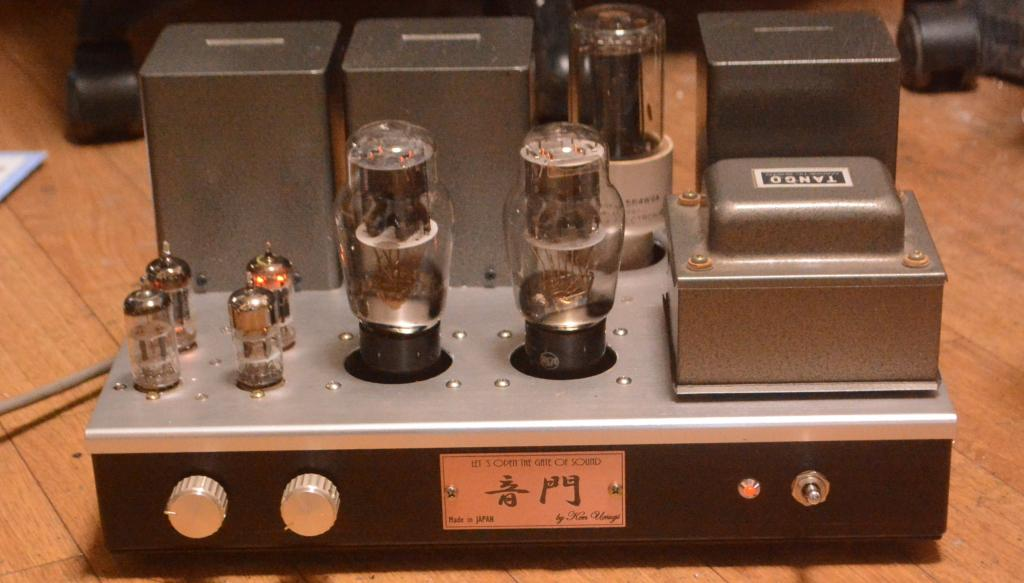 2A3 SE tube amplifier special order made stereo tube amplifier