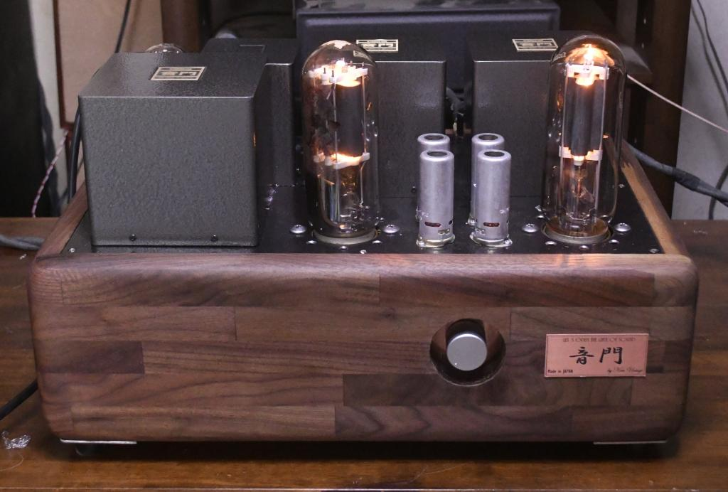 211 SE tube amplifier input volt 100V-240V, output 18W power