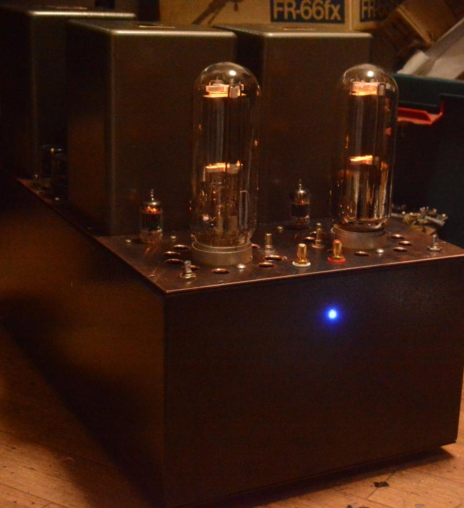 Audio Note Kondo Ongaku type 211 SE tube amplifier with ALL Hirata TANGO transformer X-10S