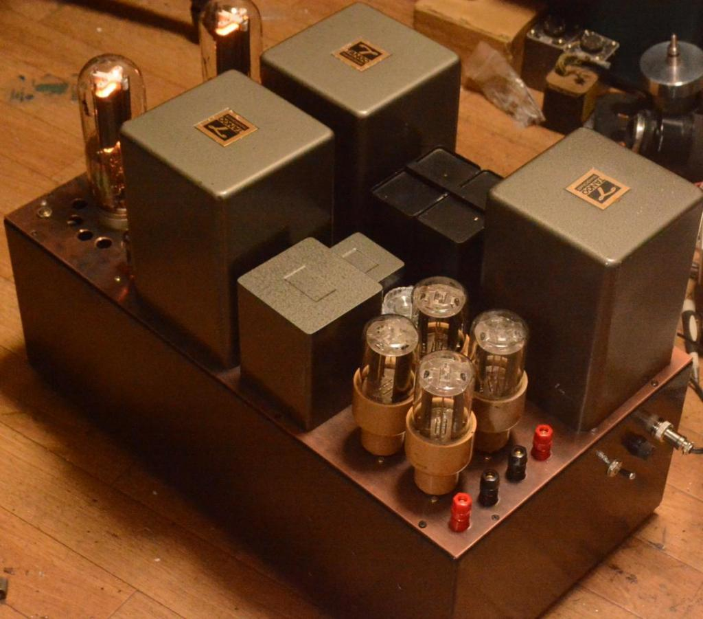 Audio Note type 211 SE tube amplifier with ALL Hirata TANGO transformer X-10S 230V soec