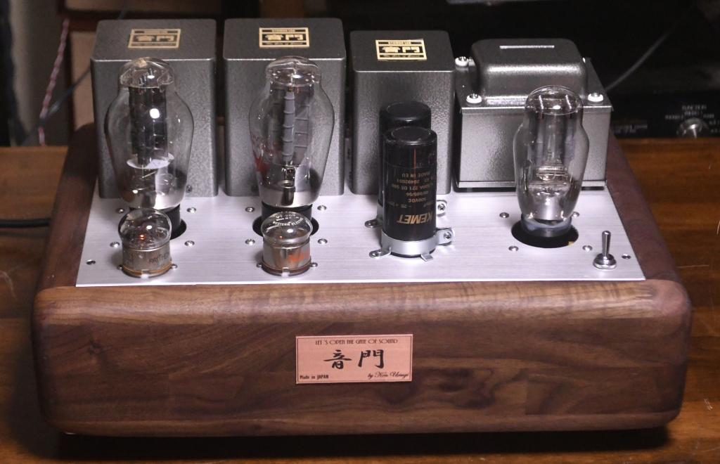 300B stereo tube amplifier class A1, 9W output
