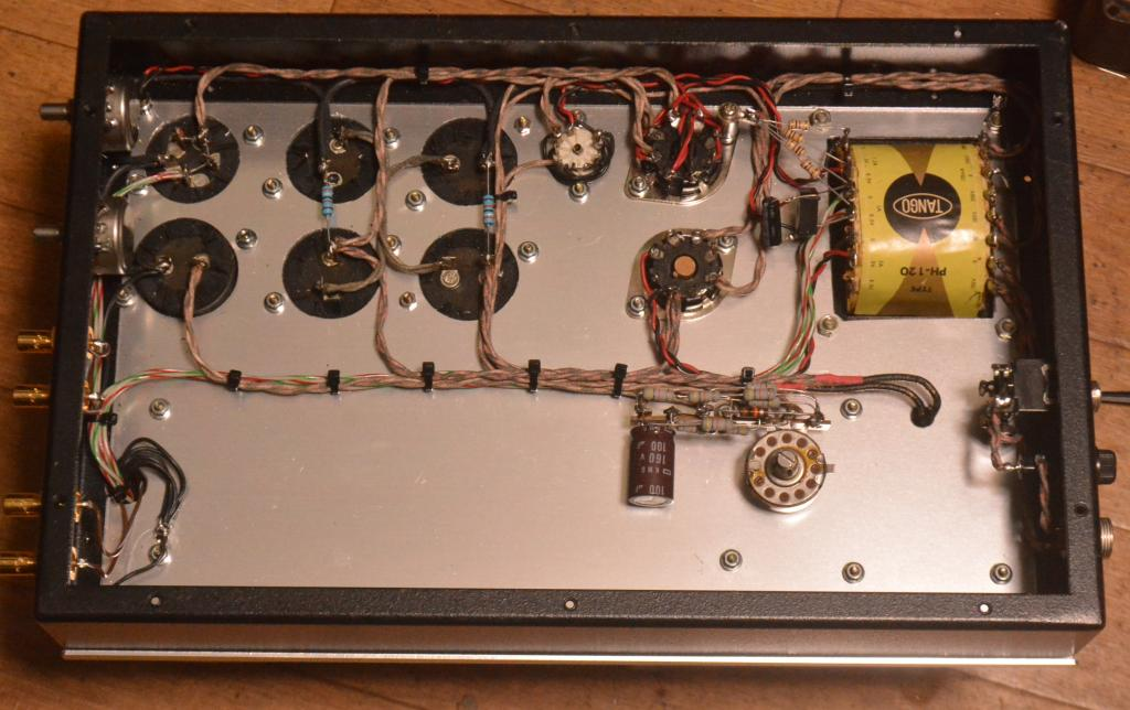 50s  yearPeerless (Altec) A-428B preamplifier 600:600ohm * VG+++