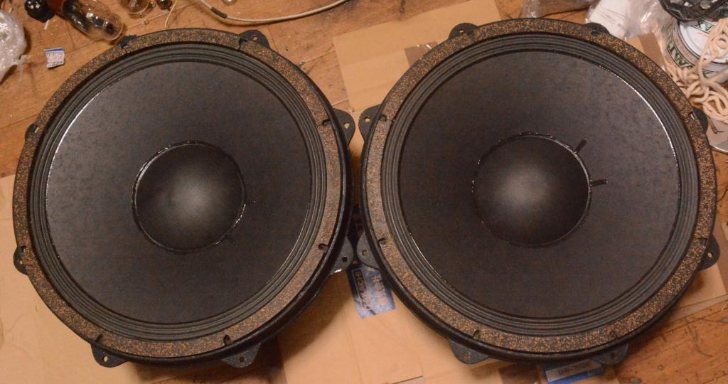 Early Prototytpe Pair GOTO UNIT 70s year woofer SG-38WNS * Ex RARE