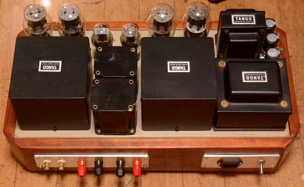 Special order made 2A3PP amplifier with all HIrata TANGO transformer * Excellent !!!